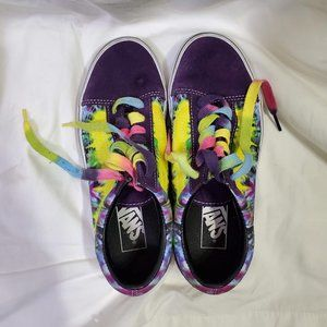 Vans Tie Dye Old Skool Shoes